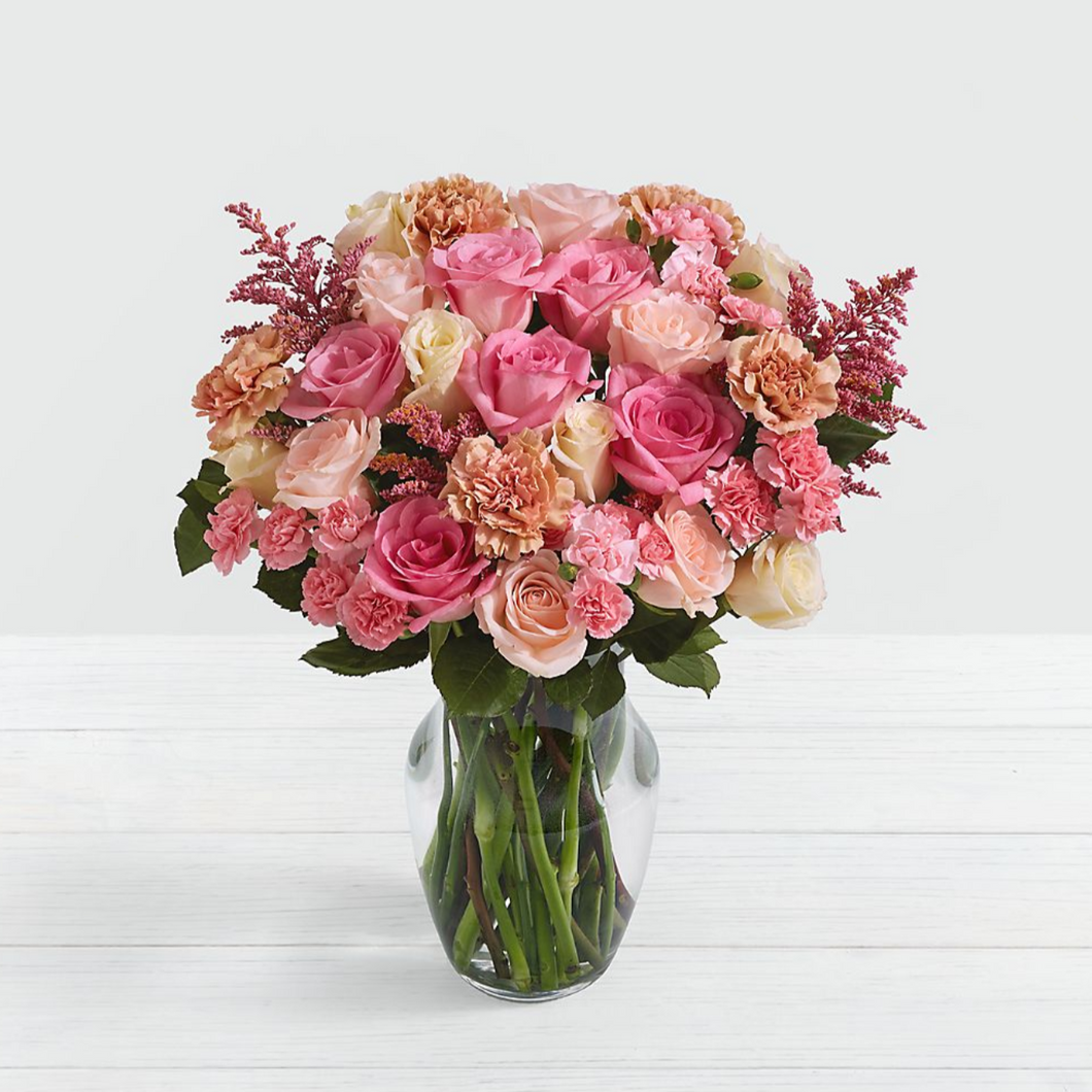 Rosy Glow Arrangement