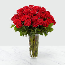 Load image into Gallery viewer, Long Stem Red Rose Bouquet