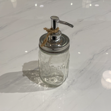 Load image into Gallery viewer, Mason Jar Soap Dispenser