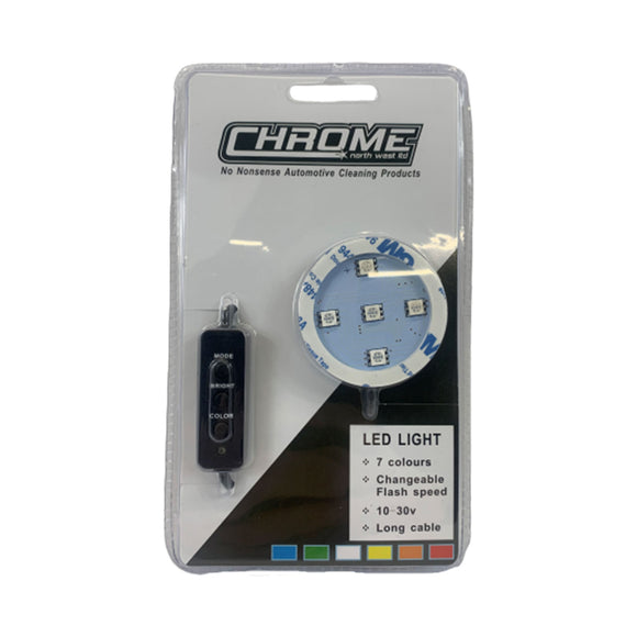 LED Air Freshener Base - 7 Colours - USB Plug