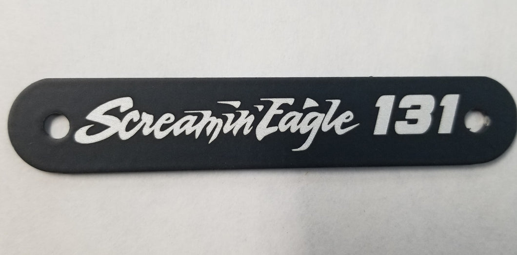 HARLEY DAVIDSON SCREAMIN EAGLE HEAD TAGS CUSTOM TO YOUR RIDE