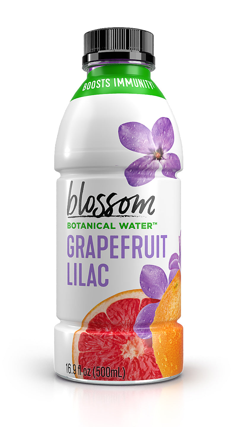 Blossom Water Grapefruit Lilac<br>12 x 16.9 oz Bottles