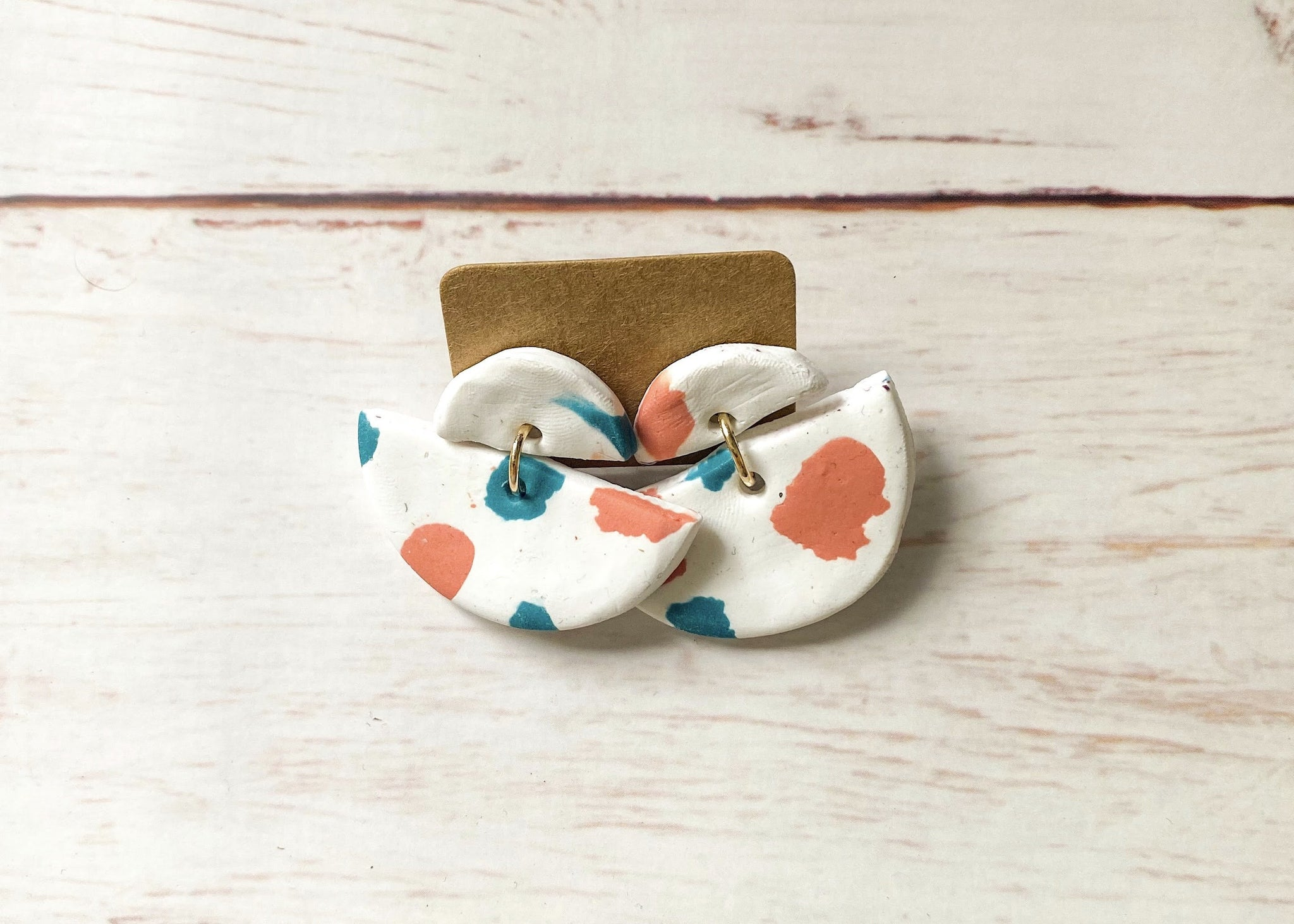 Baby Accessories | Pacifier Clips | Clay Earrings