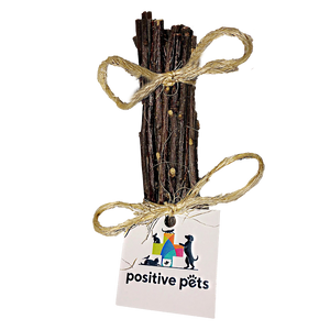 Positive Pets™ Organic Apple Twig Chews