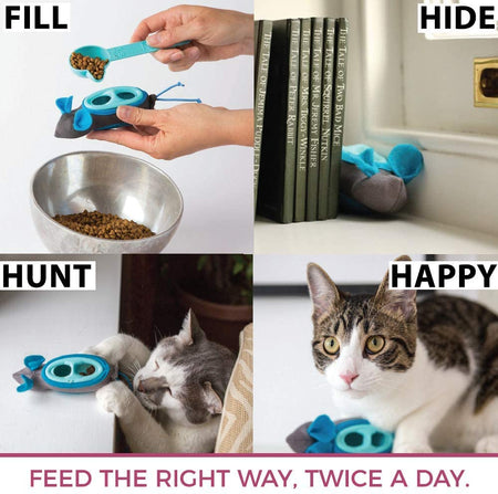 Fill, Hide, Hunt Happy