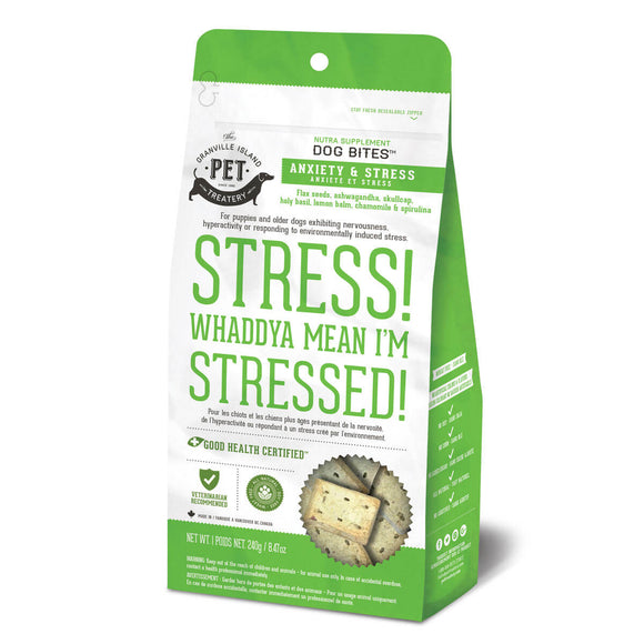 Dog Bites™ Stress! Whaddya Mean I'm Stressed!