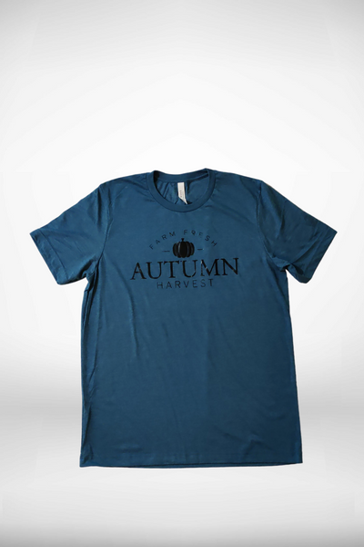 Soft t-shirts, perfect for early fall outdoor activities.