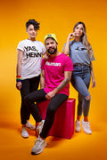Queer Eye Magenta Graphic T-Shirt