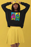 Karamo Pop Art Cozy Sweatshirt - Unisex