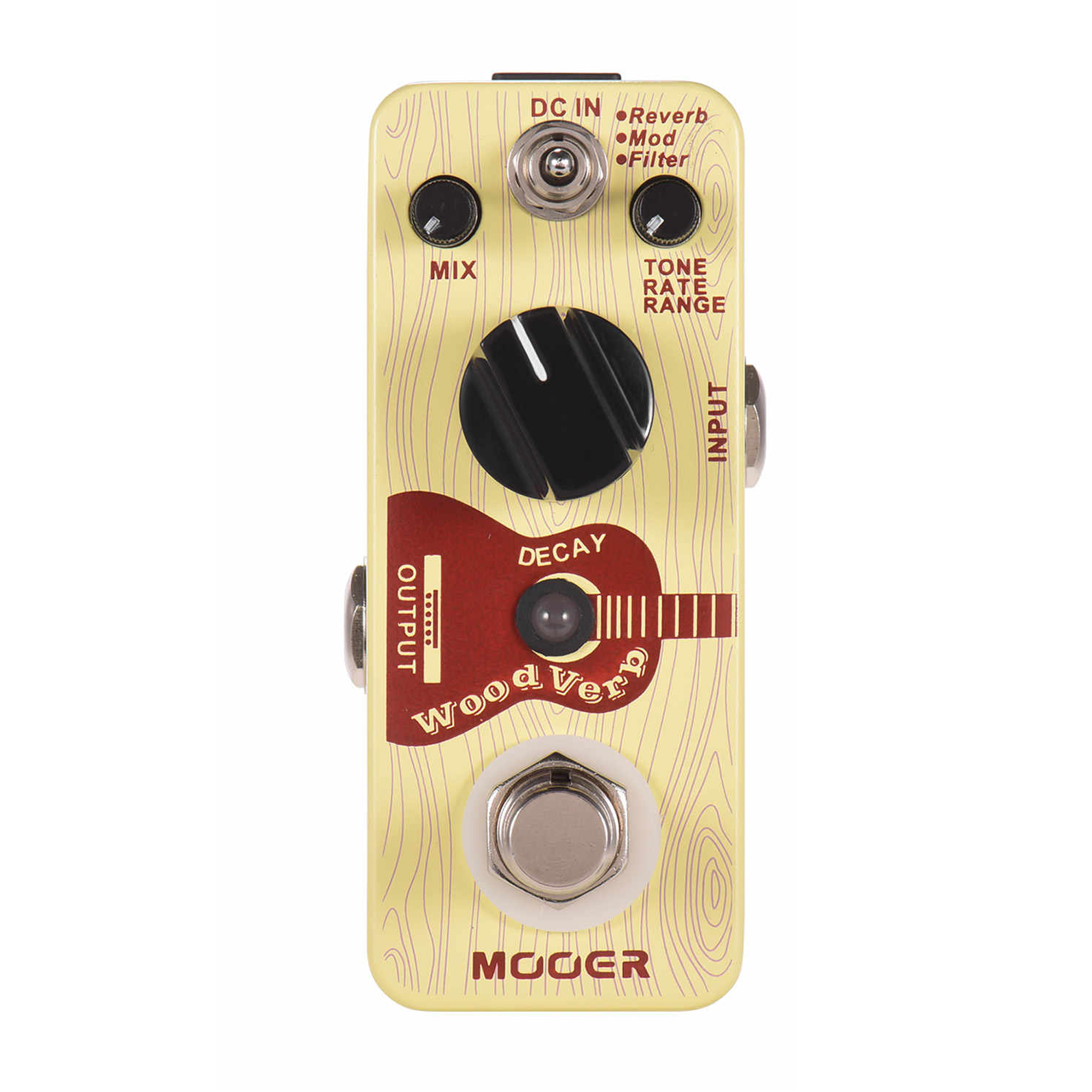 Mooer WOODVERB Acoustic Guitar Effects Pedal