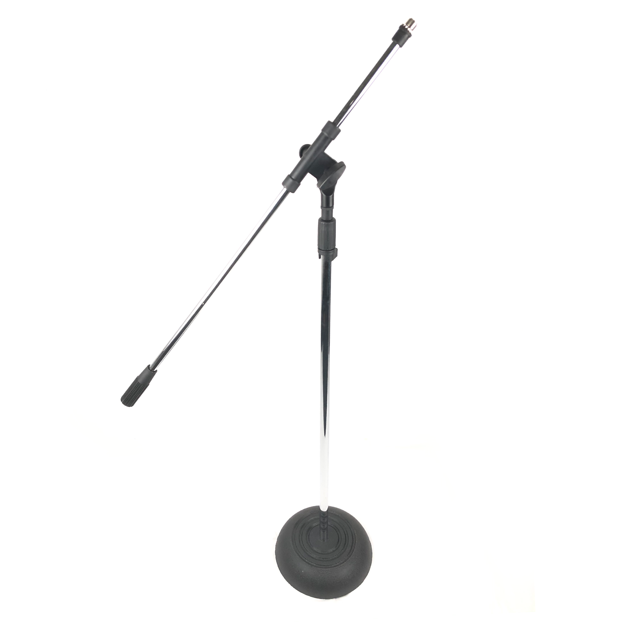 Lazer 7153RB Mic Stand with Boom Arm (Weighted Base)