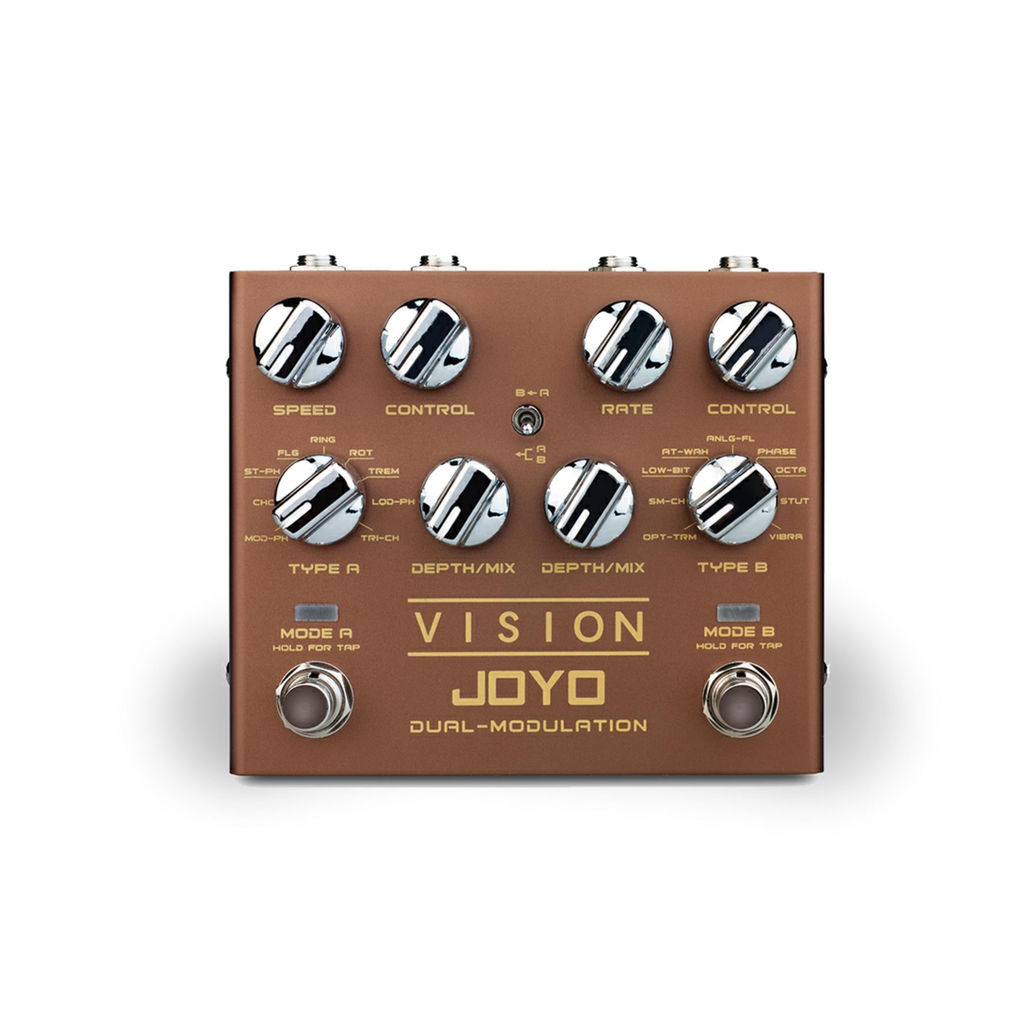 JOYO R-09 VISION Dual Modulation Effects Pedal