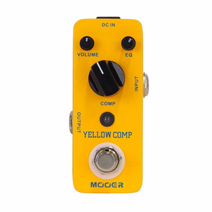 Mooer YELLOW COMP Optical Compressor Effects Pedal