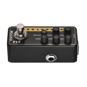 Mooer 014: TAXIDEA TAXUS Micro Preamp Effects Pedal