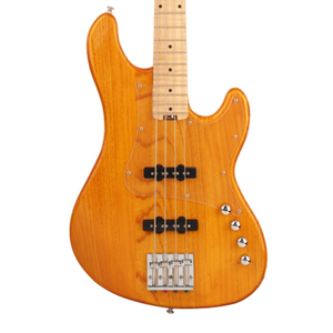 Cort GB74JJ Electric Bass Guitar (Amber)