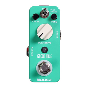 Mooer GREEN MILE Overdrive Effects Pedal