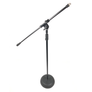 Lazer 7153RB-B Mic Stand with Boom Arm (Weighted Base)