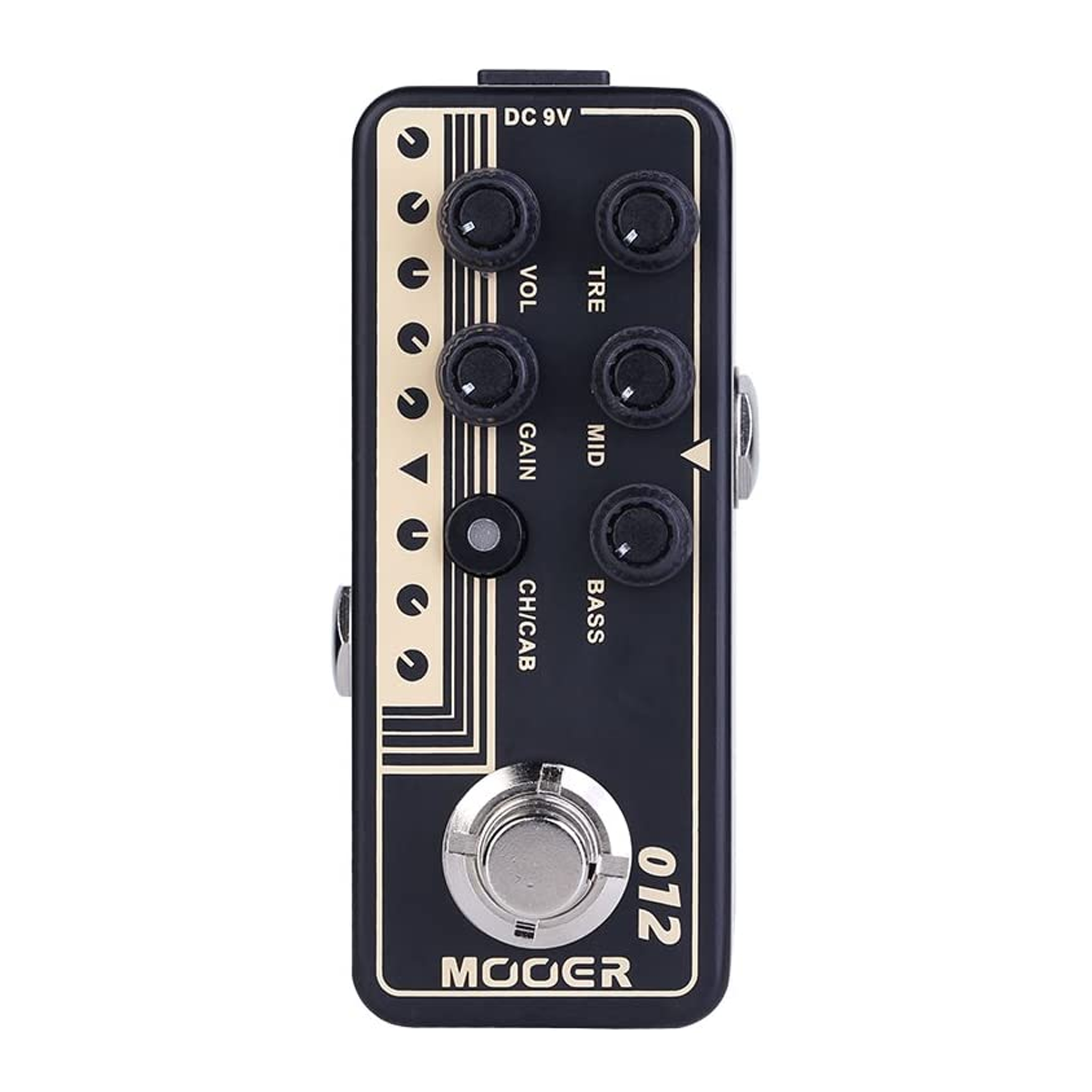 Mooer 012: US GOLD 100 Micro Preamp Effects Pedal