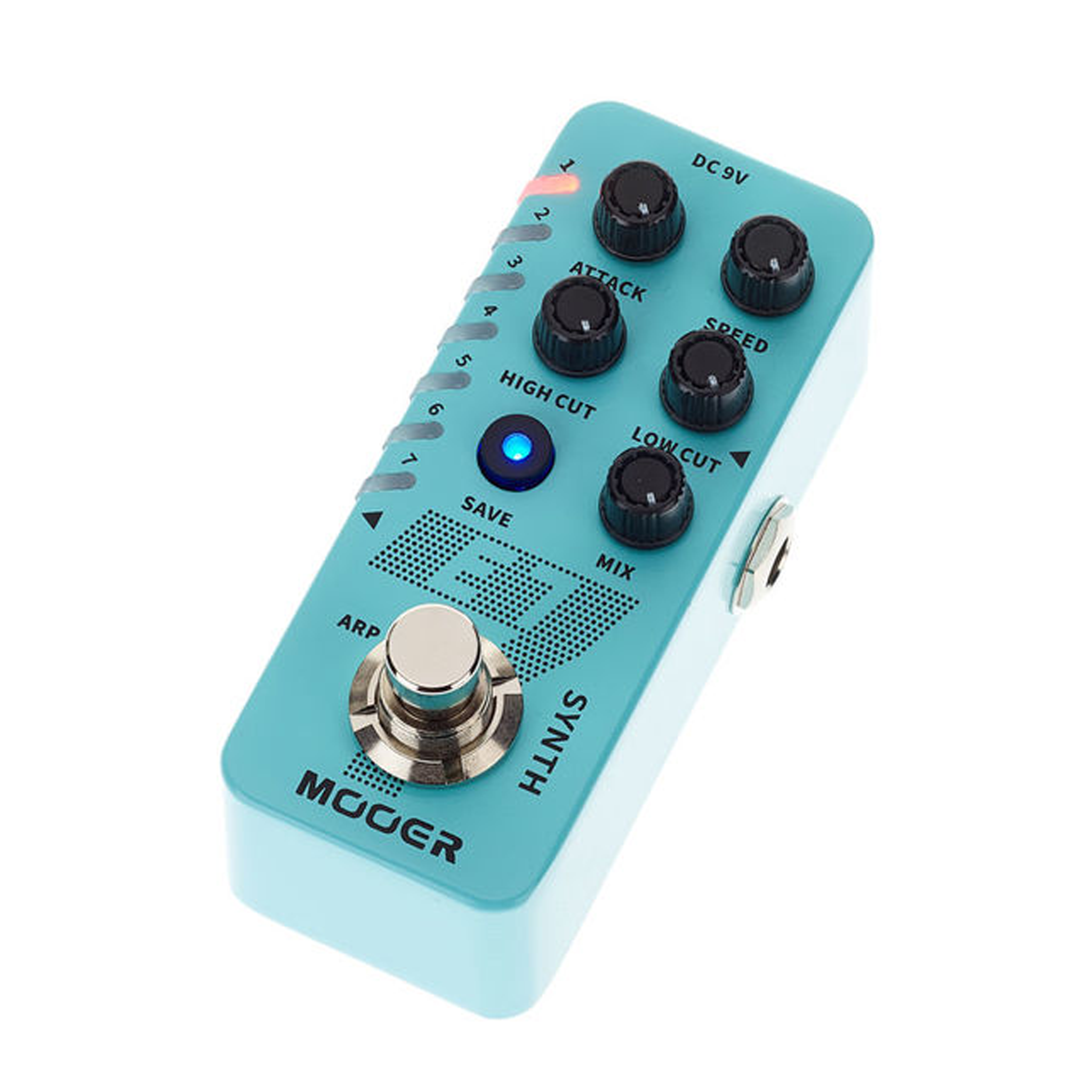 Mooer E7 Polyphonic Synth Effects Pedal
