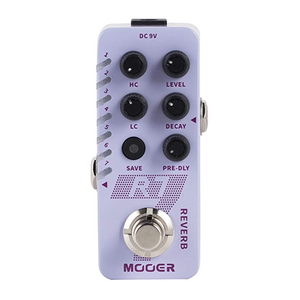 Mooer R7 Digital Reverb Effects Pedal