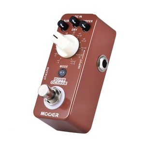 Mooer PURE OCTAVE Octaver Effects Pedal