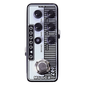 Mooer 007: REGAL TONE Micro Preamp Effects Pedal