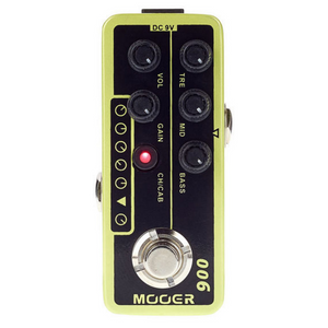 Mooer 006: US CLASSIC DELUX Micro Preamp Effects Pedal