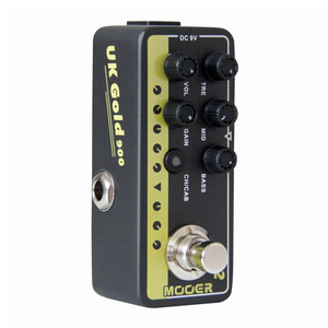 Mooer 002: UK GOLD 900 Micro Preamp Effects Pedal