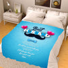 To My Best Husband I Will Always Love You Customized  Blanket