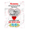 To My Mom We Love You Personalized Blanket