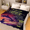To My Wife I Love You  Personalized Blanket