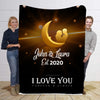 Forever & Always To my Wife Personalized Blanket