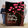 Forever  & Always Premium  Personalized Blanket