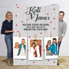 You Are Every Reason Personalized Blanket