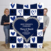 Best Friends  Forever I Love You  Personalized Blanket