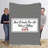 Best Friends For Life Premium Personalized Blanket