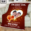 Who Loves You  Personalized Blanket