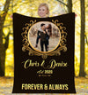 Forever & Always Lovely Picture Personalized Blanket