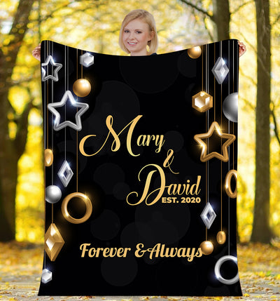 Forever & Always - Personalized Blanket