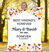 Forever & Always Best Friends Forever  Personalized Blanket