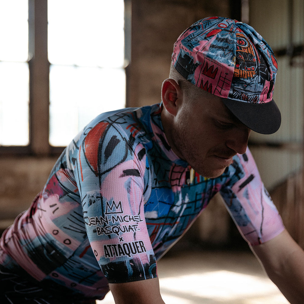 The Basquiat x Attaquer Cycling Apparel Collaboration