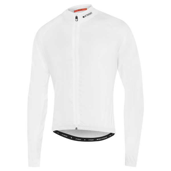 Mens White A-Line Lightweight Jacket main
