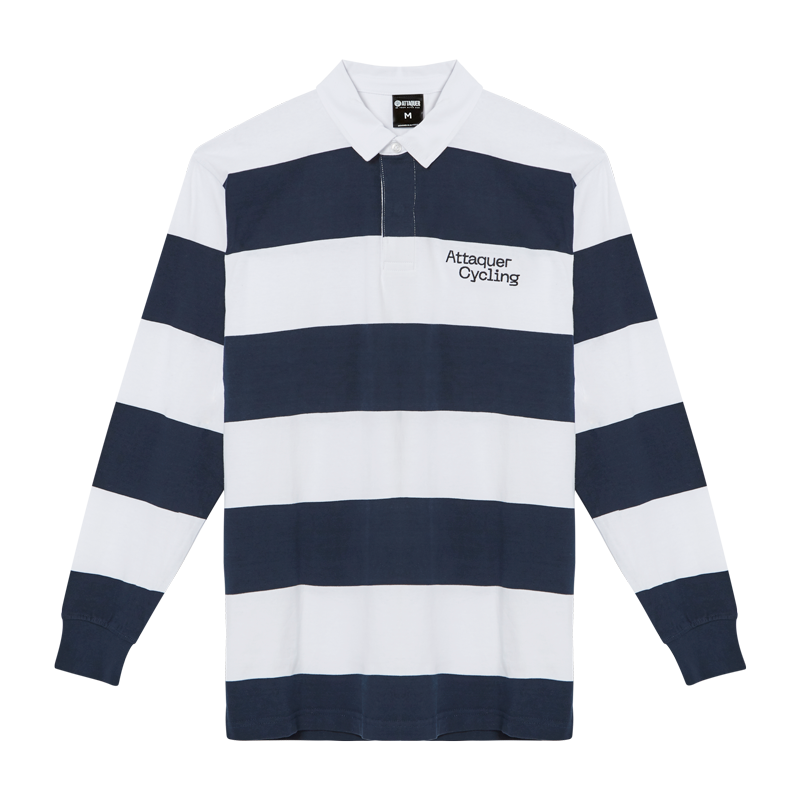 Attaquer Rugby Jersey Navy main