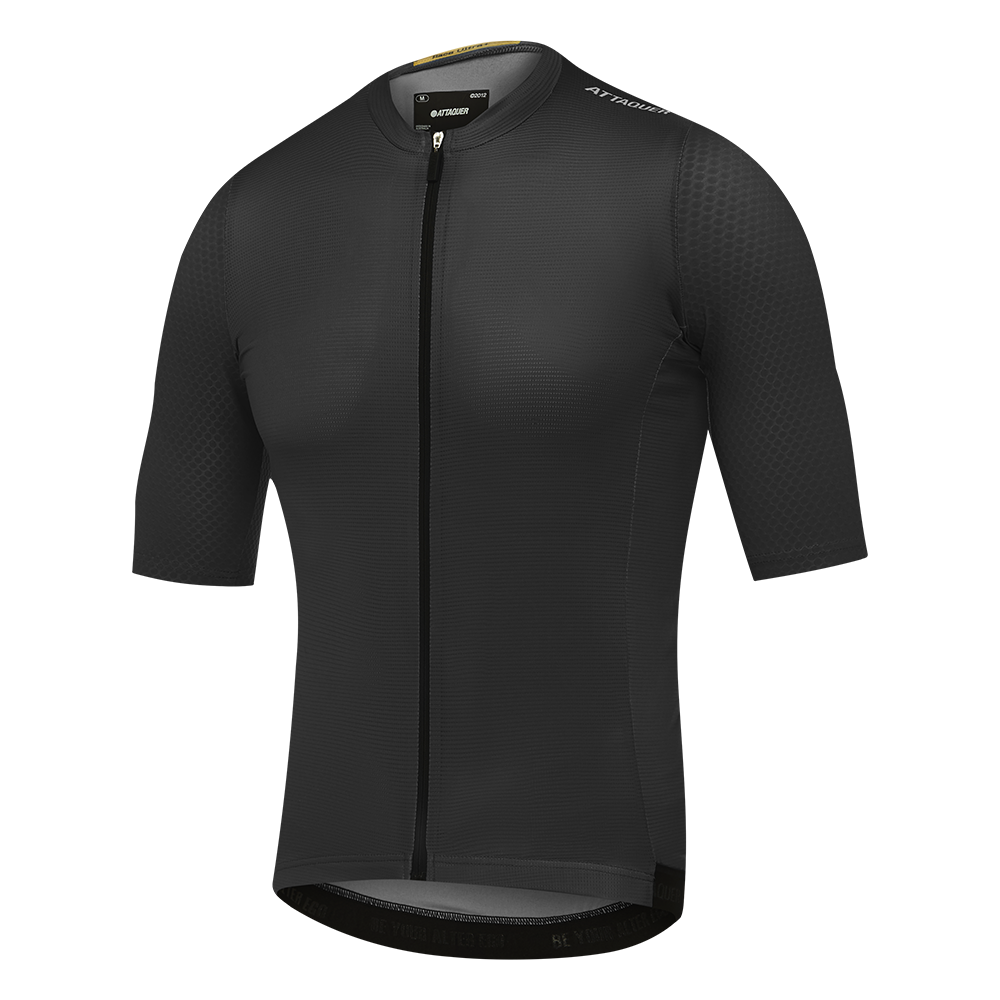 Attaquer race ULTRA+ Aero Jersey Black main