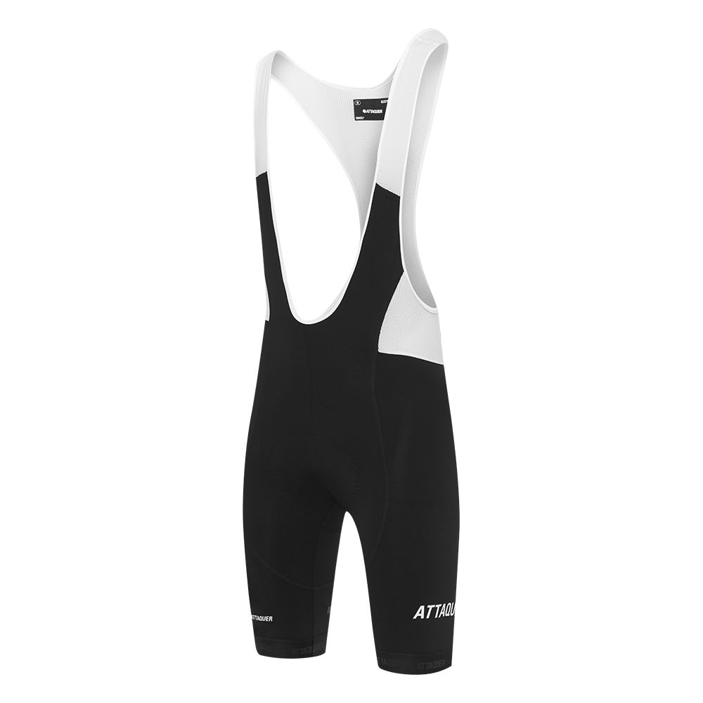 Attaquer Mens All Day Bibs Black/White main
