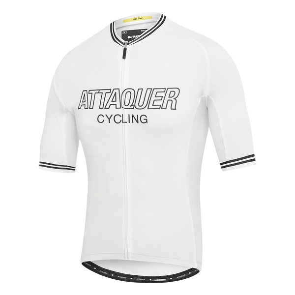 Attaquer Mens White Outliner jersey main