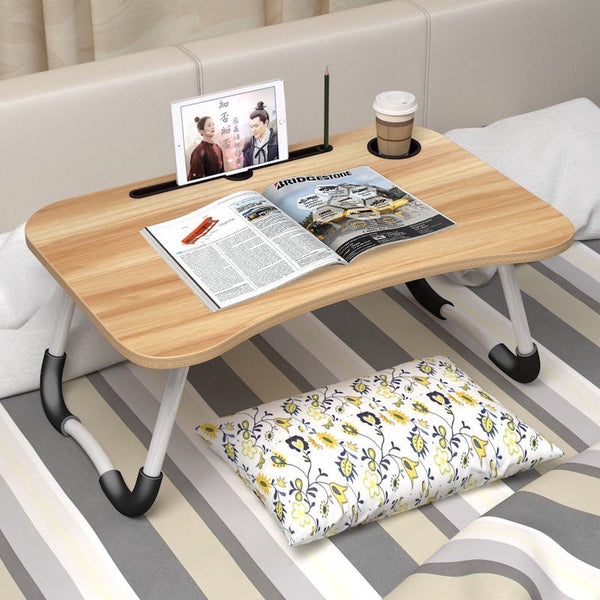 Bed Desk with FREE Cable Organizer