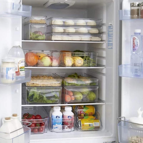 PRE-ORDER Plastic Fridge Organizer (4 Pieces)