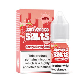 The Jam Vape Co Strawberry Jam Salt E-Liquid