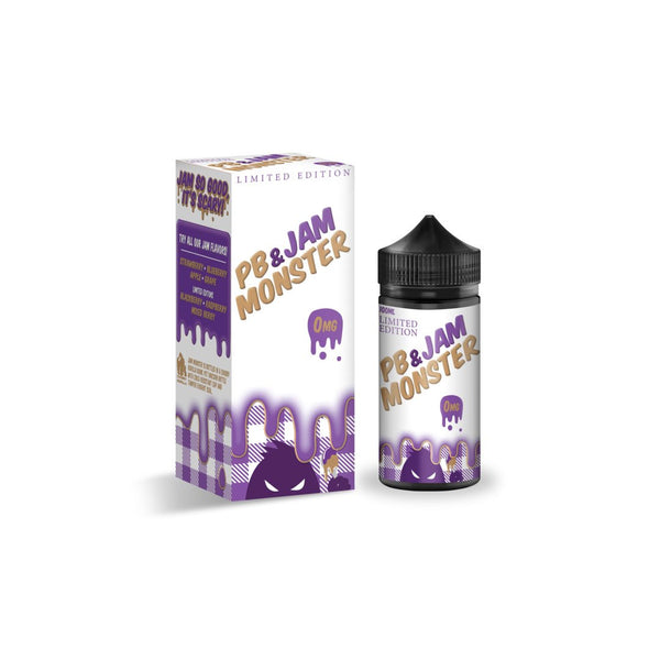 Jam Monster PB & Jam Grape E Liquid